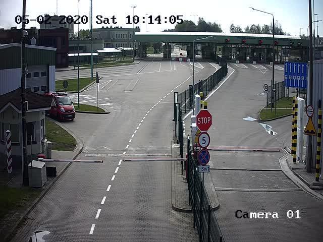 Очереди на границе Багратионовск - Безледы